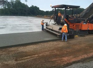 Compacted Concrete Paving
